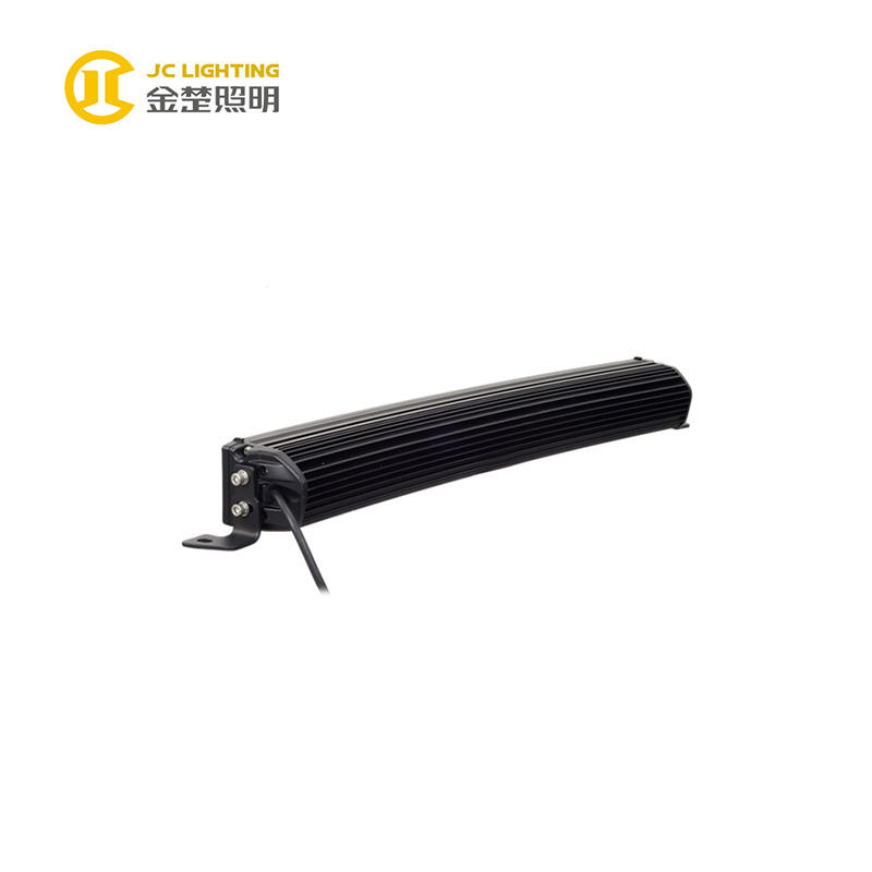 JC10418B-120W  23 Inch Curved LED Light Bar for Offroad Vehicles Jeep