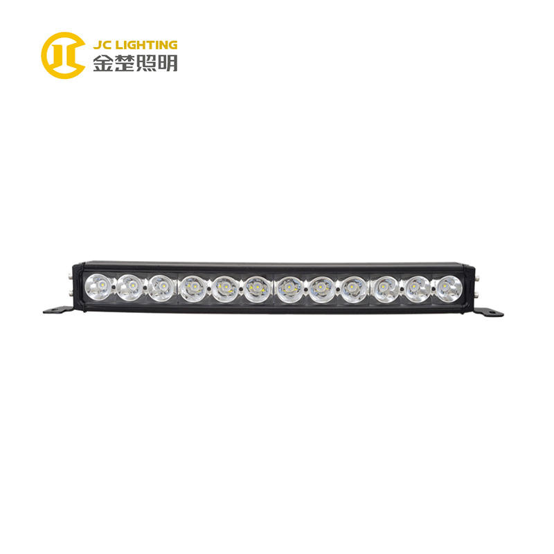 JC10418B-120W Cree 23 Inch Curved LED Light Bar, Spot Flood Combo Light Beams