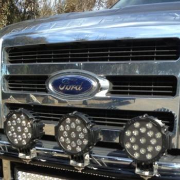 51W LED Work Driving Light on SUV