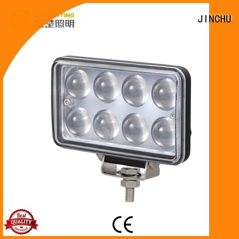 round ip68 rectangle reflector JINCHU 4 inch round led driving lights