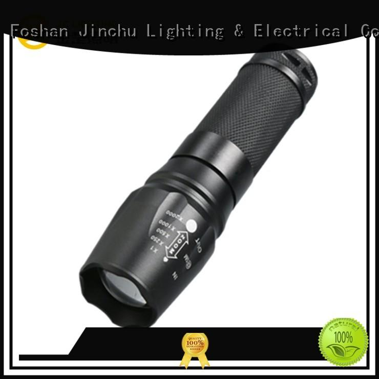 JINCHU waterproof led flashlight factory direct supply for police