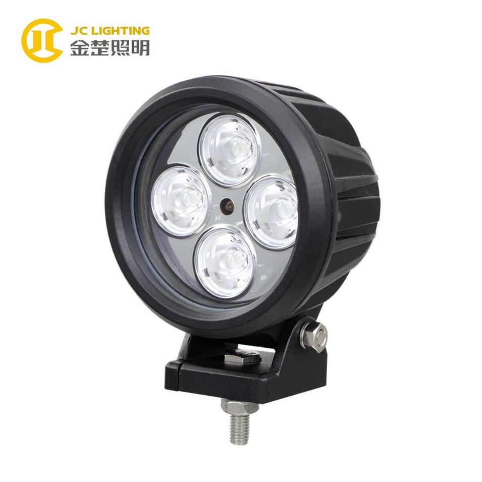 JC1004-40W 4.7inch Offroad Cree Round 40W LED Work Light for Automotive Vehicles