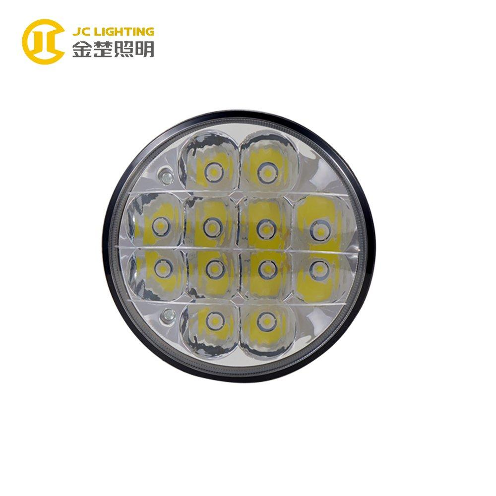 JC0314-36W Popular Round 12 PCS 36W Motorcycle LED Driving Lights for Truck Jeep Auto Accessories