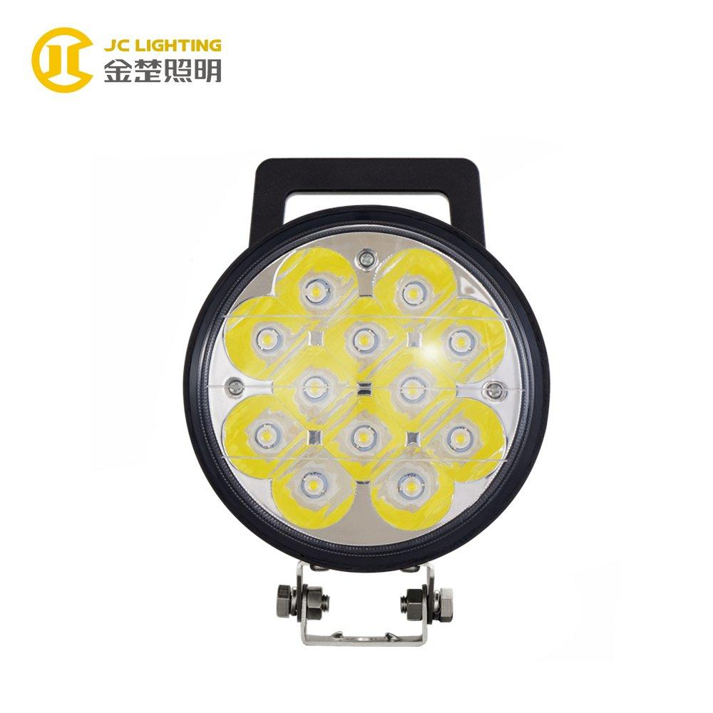 JC0314A-36W Popular Round Motorcycle LED Driving Lights for Road Roller, Bulldozer, Forklift, Crane