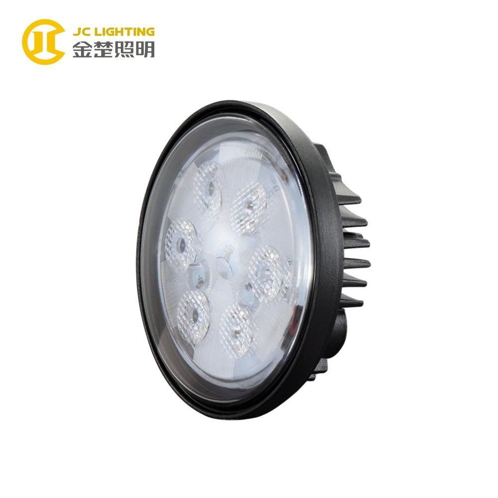 JC0304C-18W IP68 Offroad Cree Round 18W LED Tractor Light 12V 24V Working Light