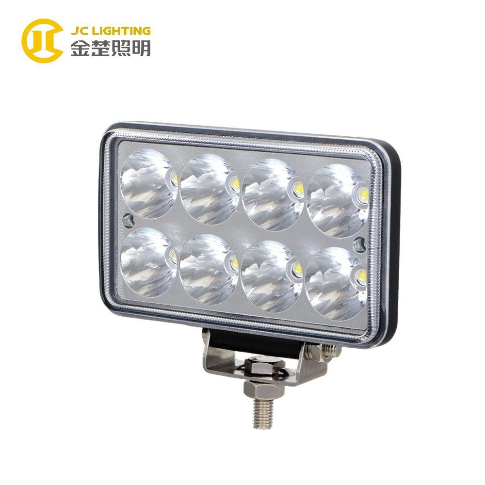 JC0306D-24W Favorable Style International IP68 24W Volvo Truck Headlight LED Driving Light