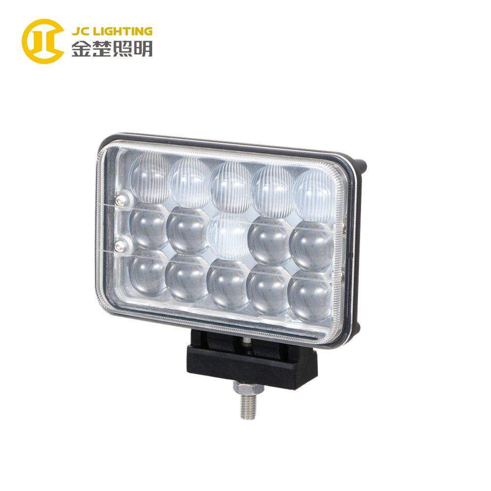 JC0313-45W with Projector Factory Offer Rectangle 12V/24V 45W Combo LED Driving Light