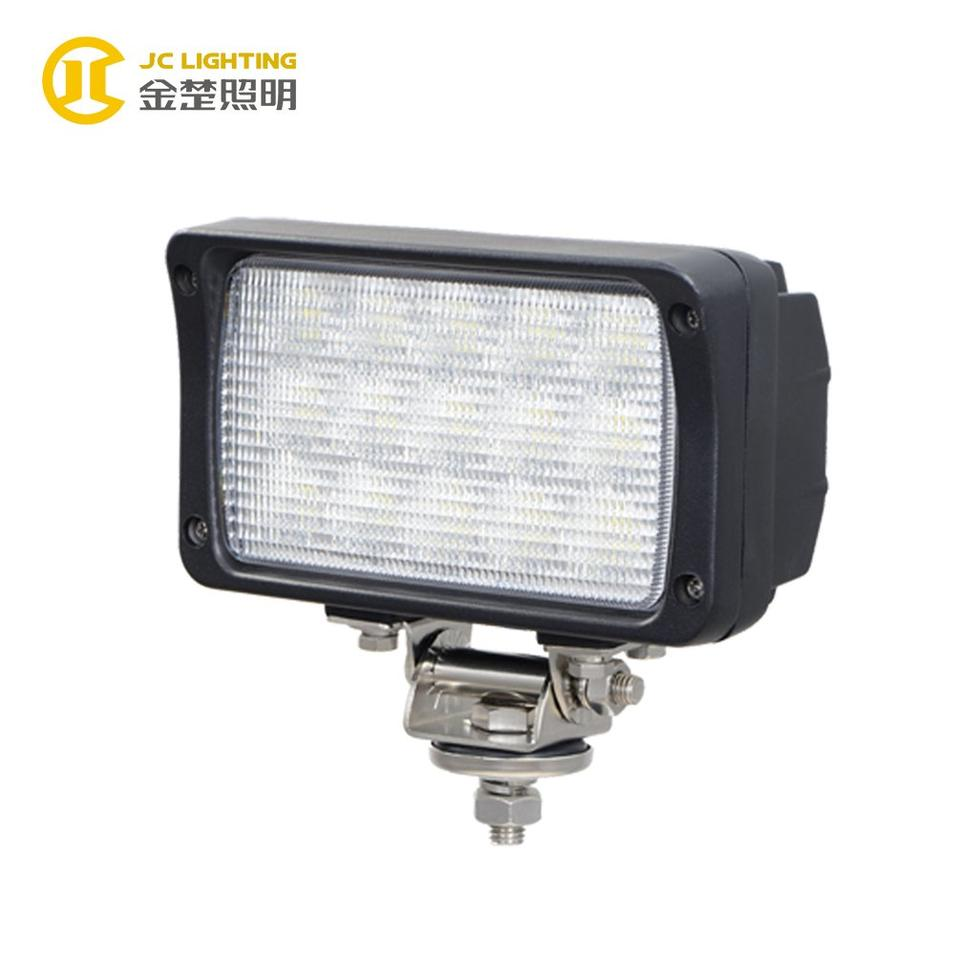 JC0311-45W 7inches Super Bright Auto Rectangle 45W LED Off road Light for Snowmobile Boat Ship Truck