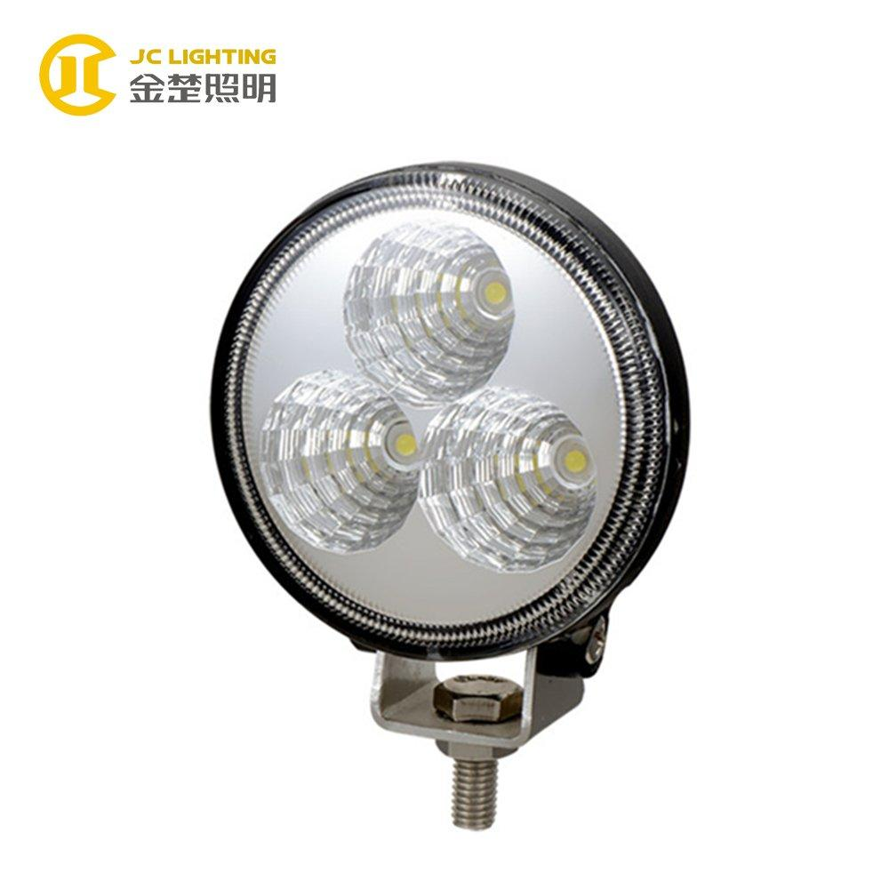 JC0301-9W LED Work Light Bridgelux LED Motorcycle Headlight for Off Road Vehicles