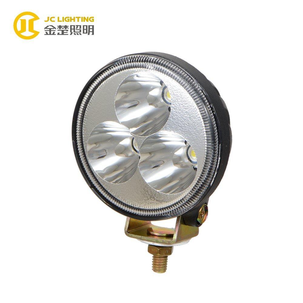 JC0301-9W LED Work Light Bridgelux LED Motorcycle Headlight for Off Road Vehicles
