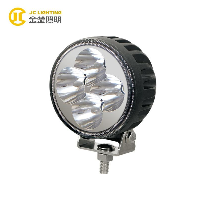 JC0302-12W Motorcycle LED Headlight 12W LED Work Light for Truck