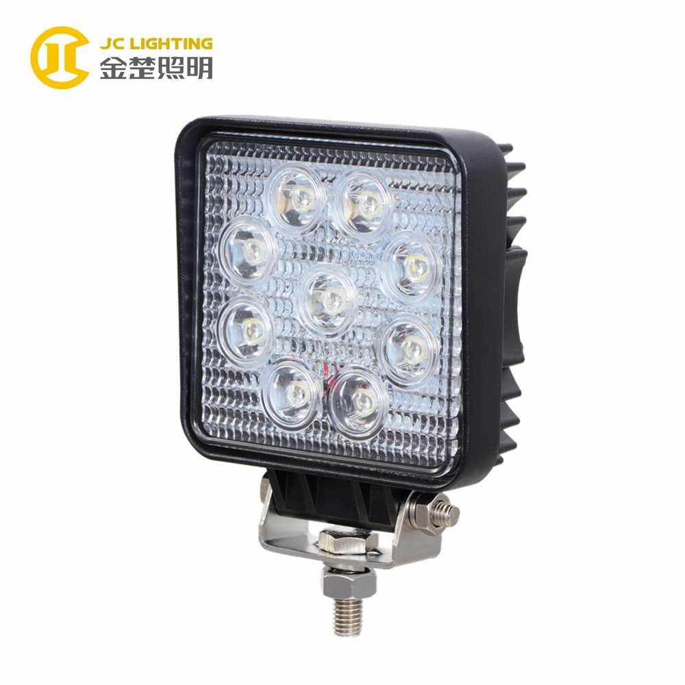 JC0307E-27W China Supplier Cheap Good Quality IP68 27W LED Offroad Light