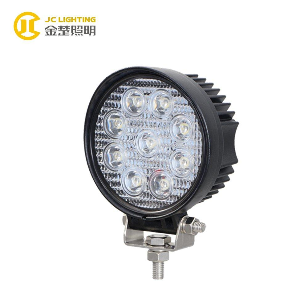 JC0307H-27W 2017 Magnetic LED Work Light  27W For truck Agriculture Off road Forklifts Working Lamps