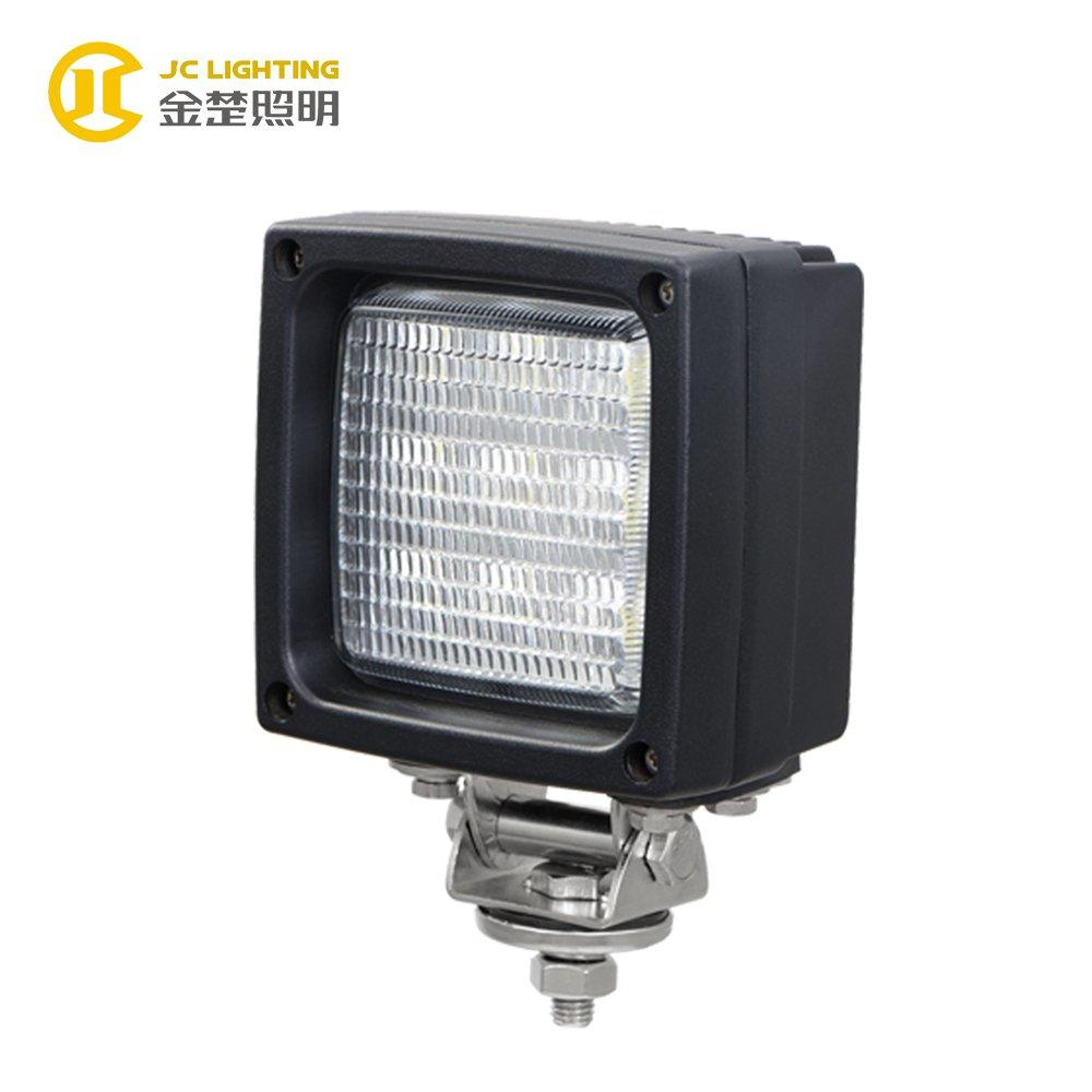 JC0307C-27W Powerful Square 12V 24V 27W LED Work Lamp Lights for Heavy Duty Trucks