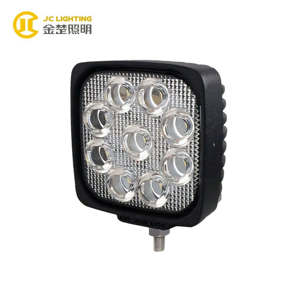 JINCHU JC0307B-27W Auto LED Lamp Square High Lumens 27W LED Lights 24V for Trucks LED Work Light image96