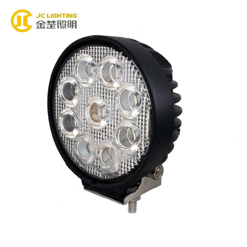 JC0307D-27W Super Bright 24V LED Truck Work Lights for Communication Vehicle