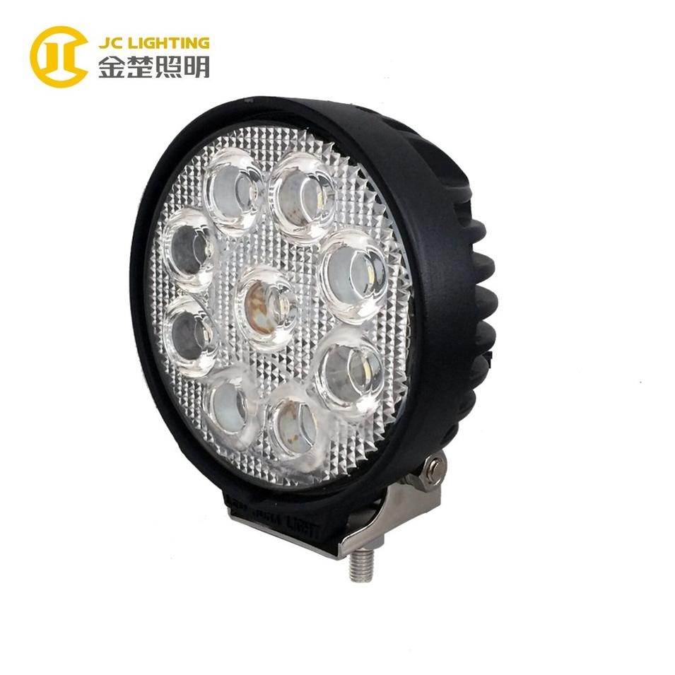 JC0307D-27W Super Bright 24V LED Truck Work Lights for Communication Vehicle