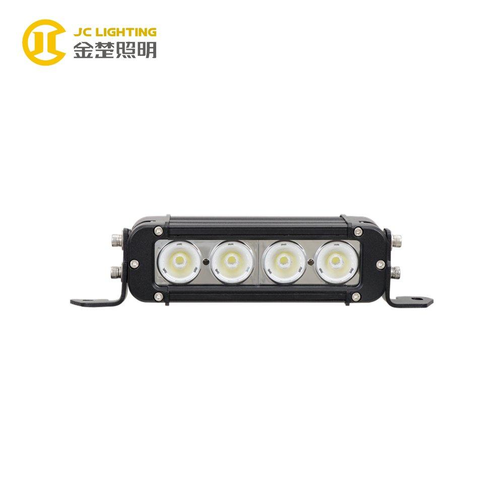 JC10118S-40W Hot Selling Single Row 40W LED Light Bar for Truck Jeep