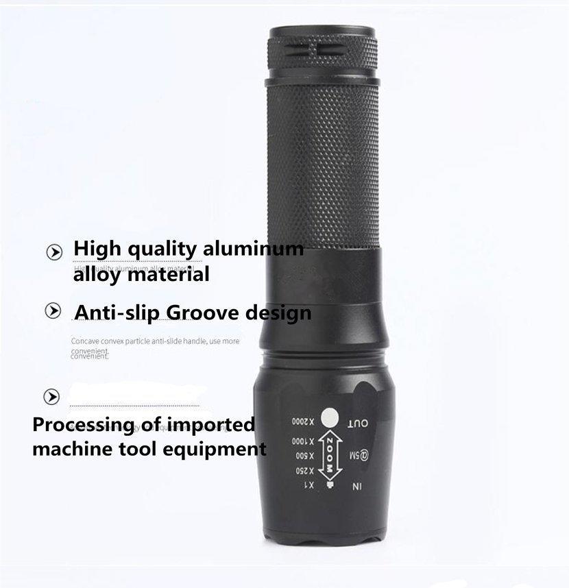 8w activities OEM brightest led flashlight JINCHU