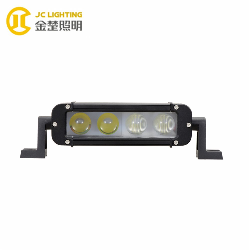 JINCHU JC10118A-40W 8 Inch Cree Projector Offroad LED Light Bar for Trucks Crane Excavator LED Light Bar image72
