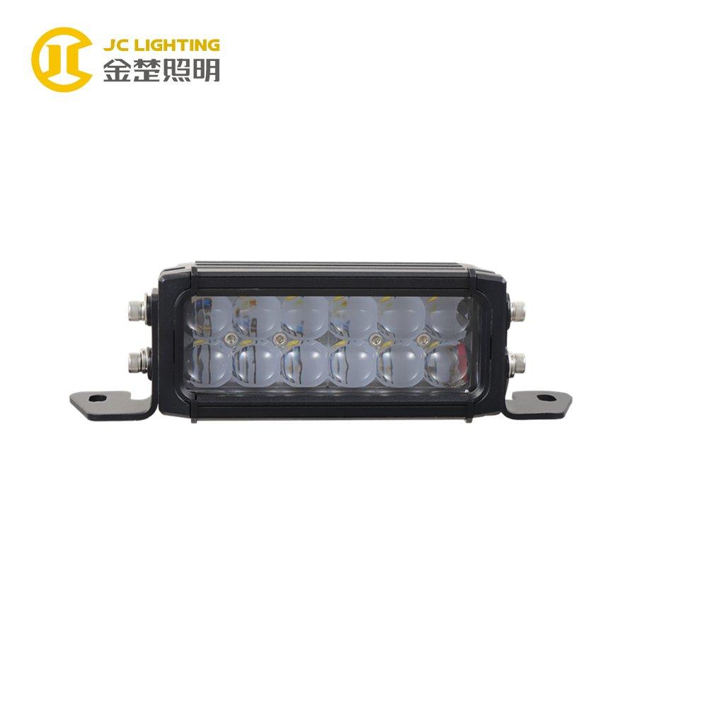 JINCHU JC03218A-36W 7 Inch Factory Sell Double Row 36W LED Light Bar for Marine LED Light Bar image63