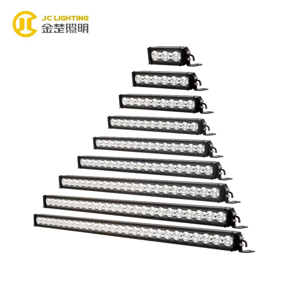 JC10118B-30W 60W 90W 120W 150W 180W 210W 240W 270W 10W Cree Offroad LED Light Bar