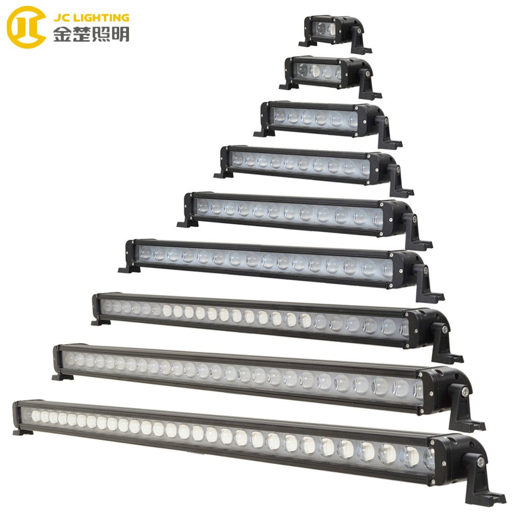 JINCHU JC10118A-20W 40W 60W 100W 120W 180W 240W 260W 300W Cree LED Lightbar With Glass Projector LED Light Bar image47