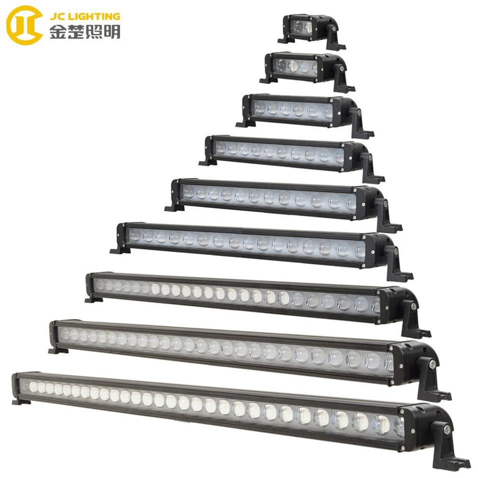 JC10118A-20W 40W 60W 100W 120W 180W 240W 260W 300W Cree LED Lightbar With Glass Projector