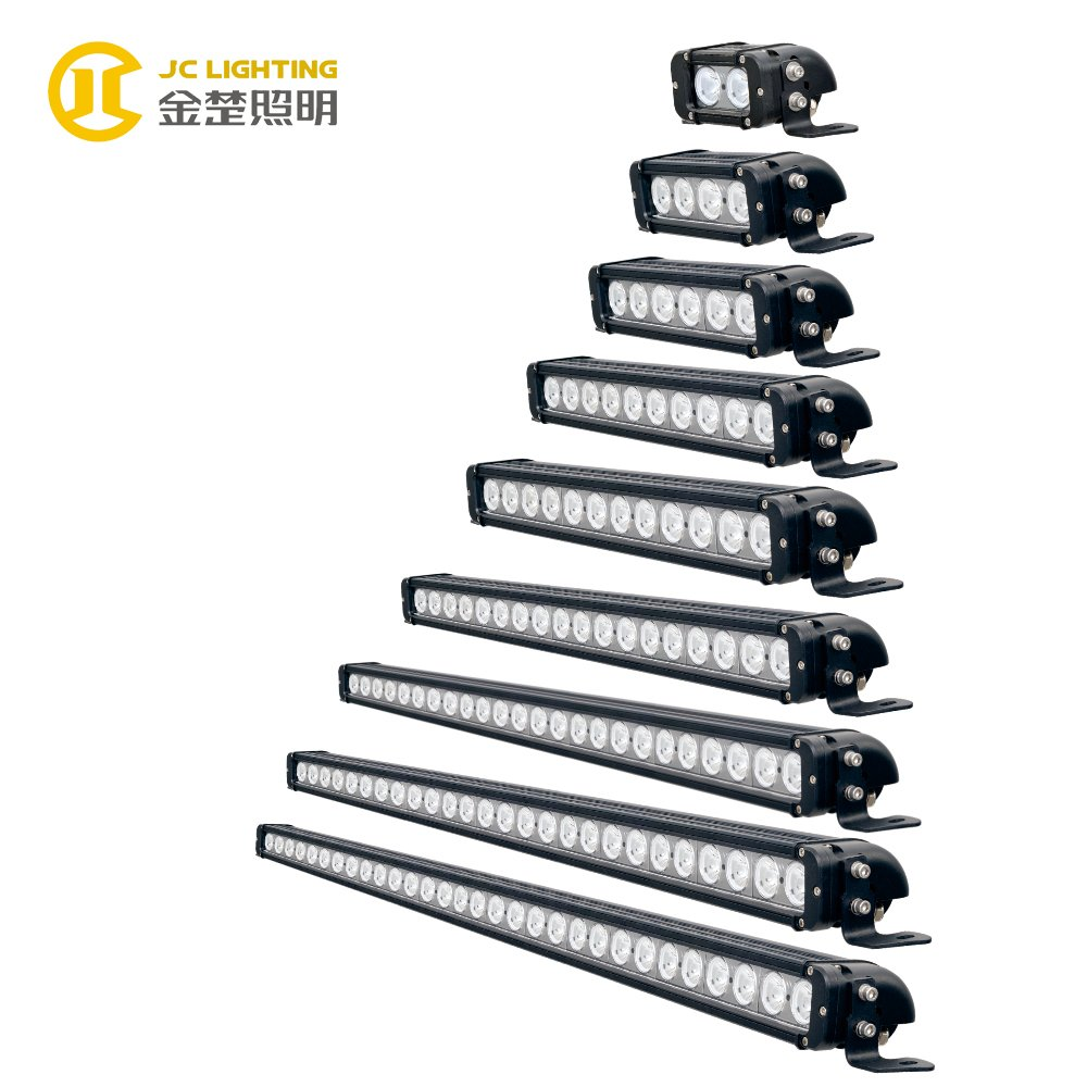 JINCHU JC10118S-20W 40W 60W 100W 120W 180W 240W 260W 300W for 4WD SUV UTV ATV LED Light Bar image46
