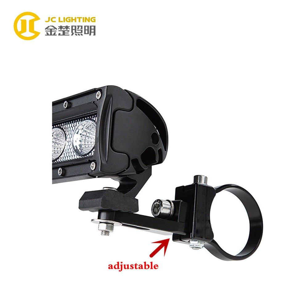 JC003A Aluminum 2.5 Inch LED Driving Light Bar Mounting Brackets for SUV