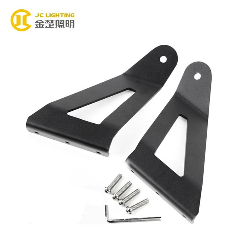 JC206 Factory Price Iron Black LED Driving Work Light Bar Mount Brackets for Ford Raptor