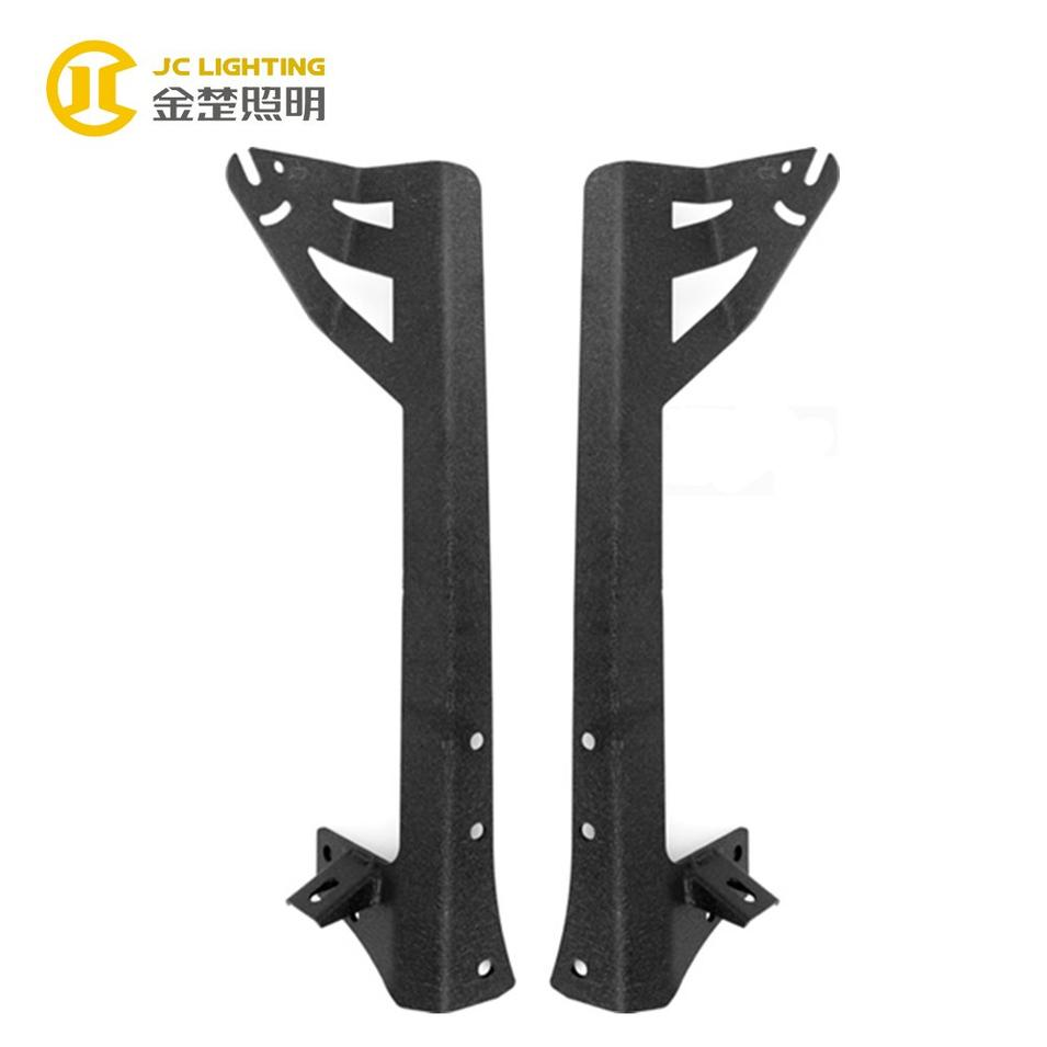 JC302 High Quality Iron Truck LED Lamp Brackets Light Bar Mounting Bracket for Jeep Wrangler