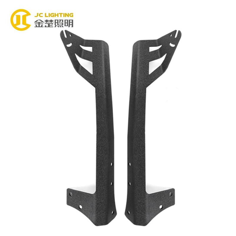 JC303 Best Selling Light Holder Jeep Wrangler Curve LED Bar Light Mounting Brackets