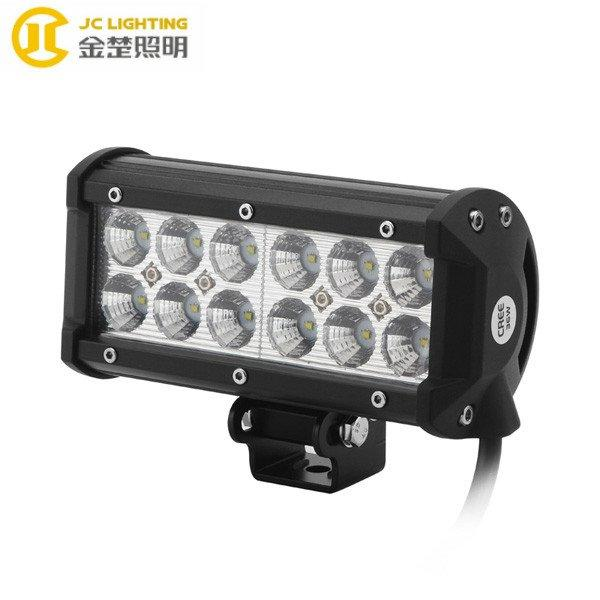 JC03218B-36W Double Row 7 Inch 36W LED Bar Light Off road Car Truck Boats Driving Lamps Fog Off road SUV 4WD