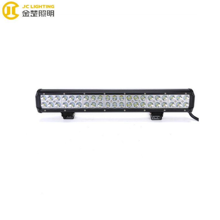 JINCHU JC03218B-126W 20Inch Super Bright Offroad Led Light Bars Car Parts  126W Led Lights For JEEP UTV ATV Truck LED Light Bar image12