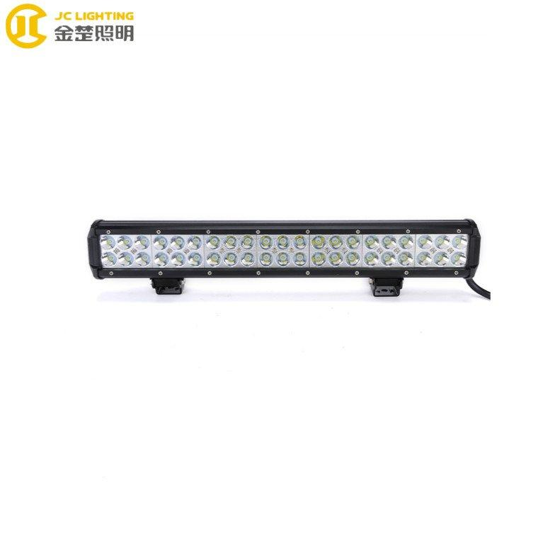 JC03218B-126W 20Inch Super Bright Offroad Led Light Bars Car Parts  126W Led Lights For JEEP UTV ATV Truck