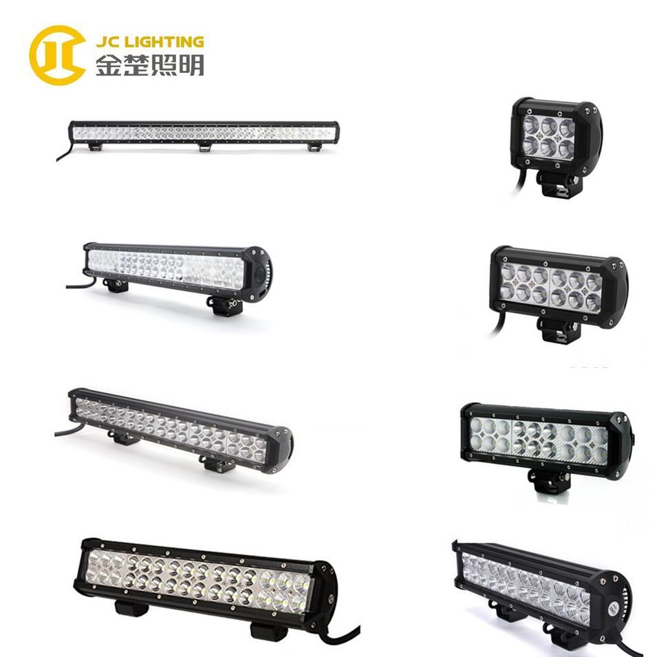 JC03218B-18W 36W 54W 72W 126W 234W 252W 288W 324W double row led light bar offroad, autos electricos