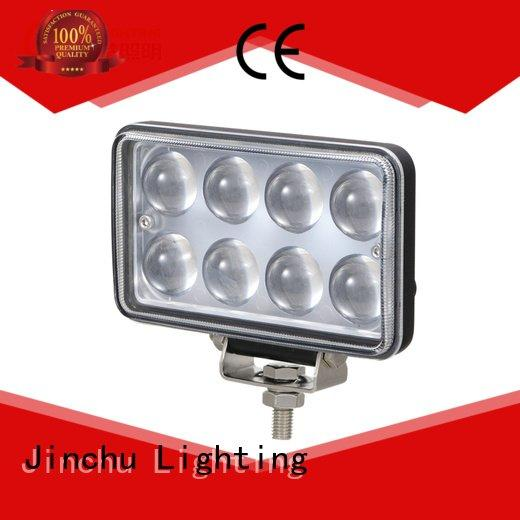 JINCHU Brand 24v flood 4 inch round led driving lights jeep coming