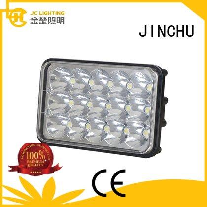 JINCHU 4 inch round led driving lights bright combo jeep offroad