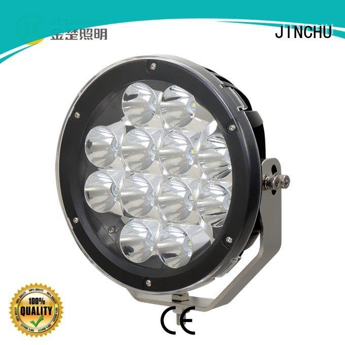 JINCHU off road led lights roller ce light lumens