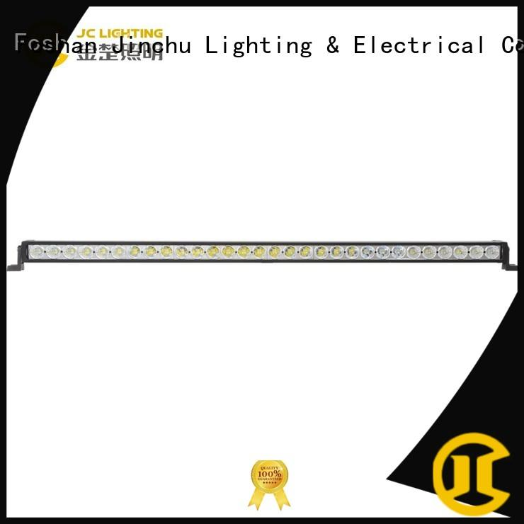 JINCHU curved led light bar manufacturer for SUV