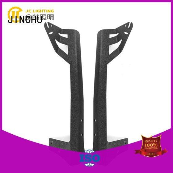 JINCHU car steel screw jeep tj light bar bracket driving