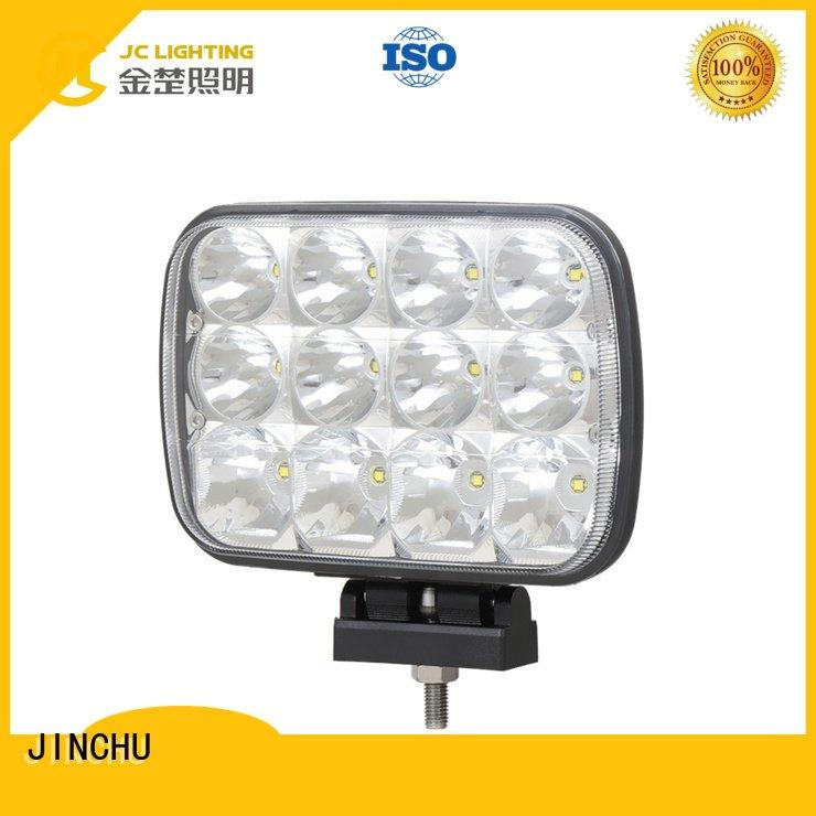 JINCHU Brand Dustproof & Waterproof Rating Material Life Time led driving lights Certificates