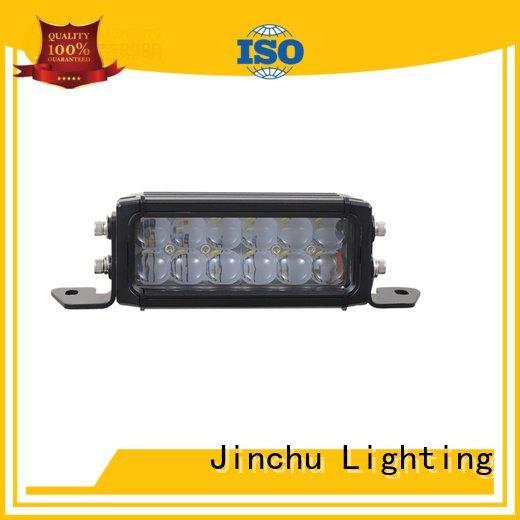 JINCHU jeep led light bar curved powerful automobile 17