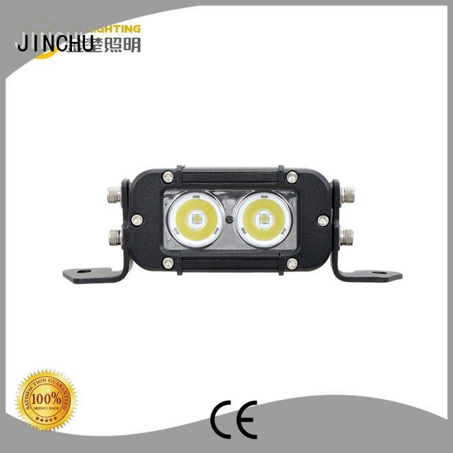 Hot jeep led light bar Material led bar Dustproof&WaterproofRating JINCHU