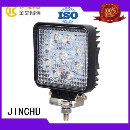 JINCHU cree led work light auto headlight fire