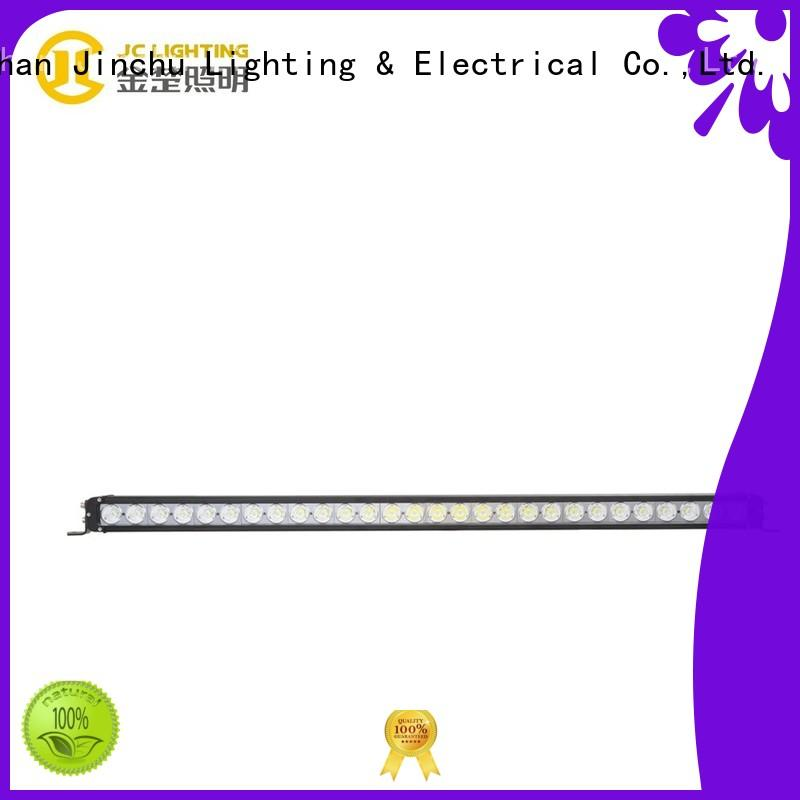 JC10118S-300W Heavy Duty Single Row Cree 300W LED Light Bar for Excavator Truck Jeep