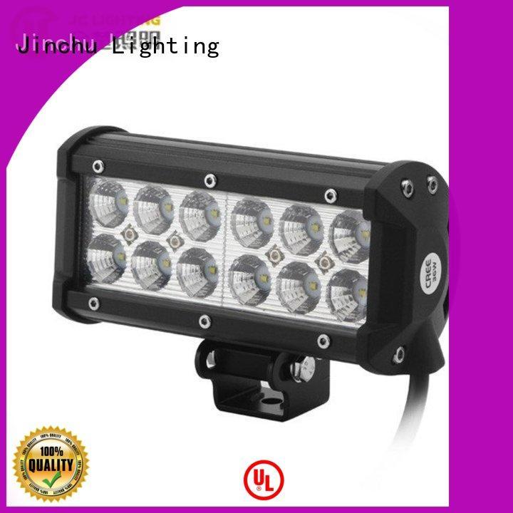 JINCHU Brand 4d 20w custom jeep led light bar