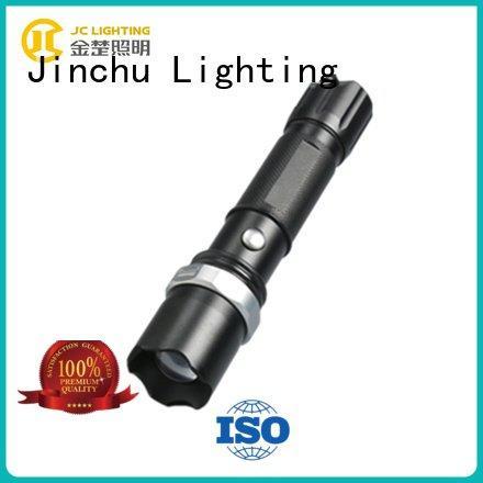 JINCHU brightest tactical led flashlight 3w emergtency waterproof