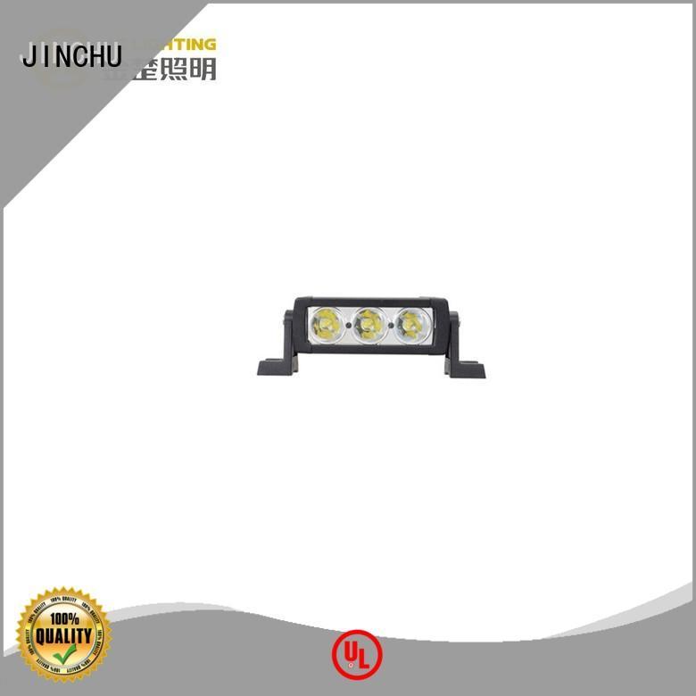 road rohs 4d JINCHU Brand jeep led light bar factory